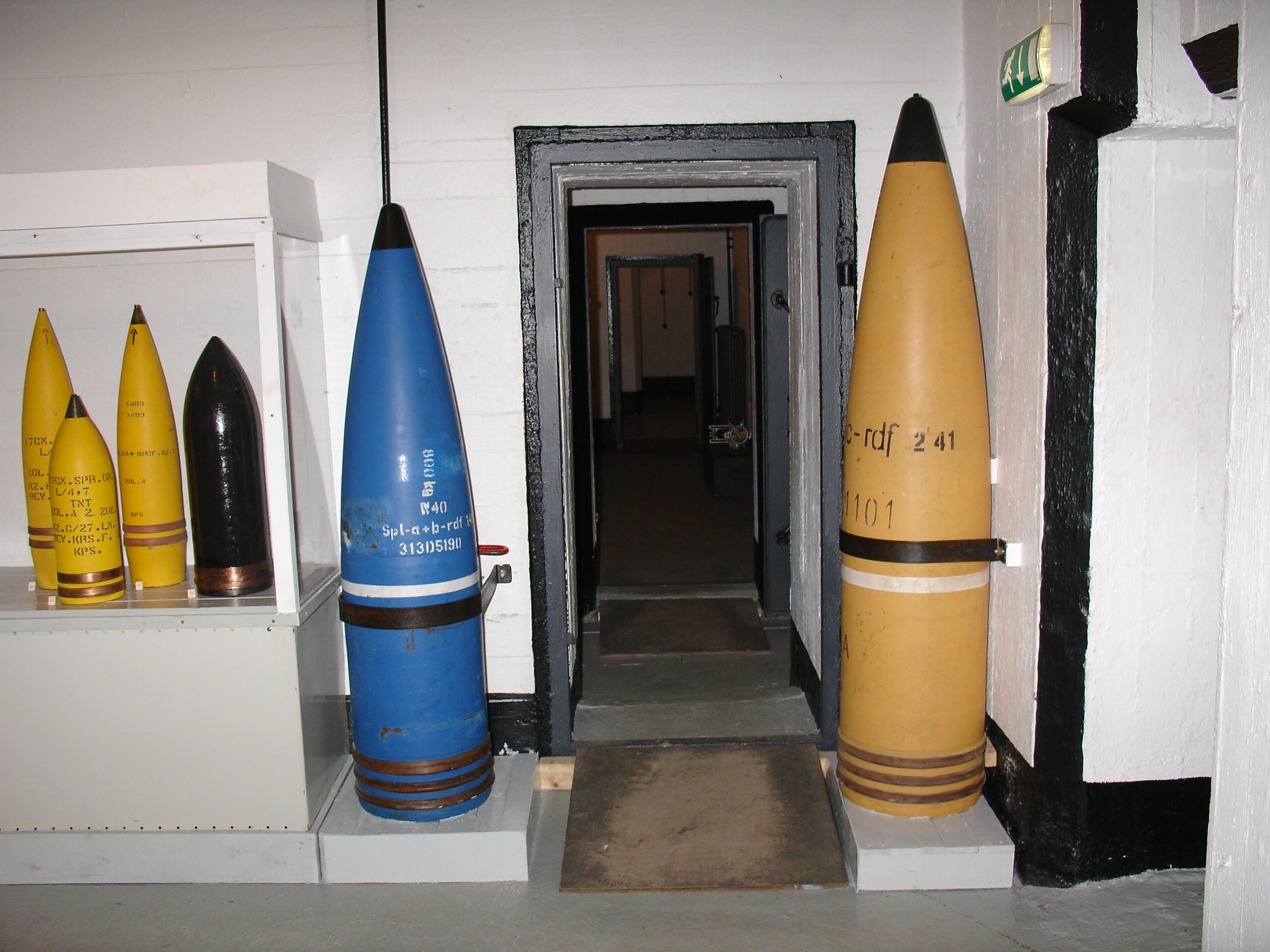 Ammunisjon_Kristiansand_kanonmuseum