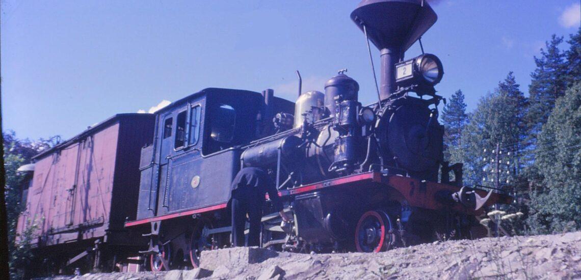 Bilde til Setesdalsbanen sin plass i den nasjonale jernbanehistorien