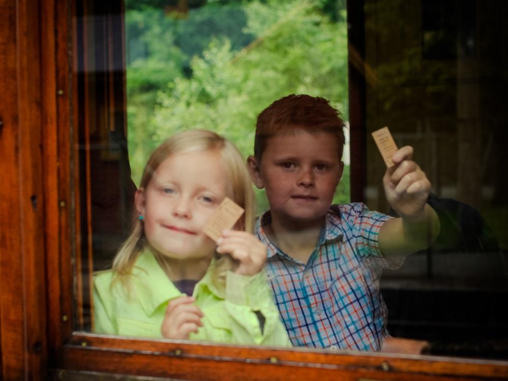 Barn på Setesdalsbanen