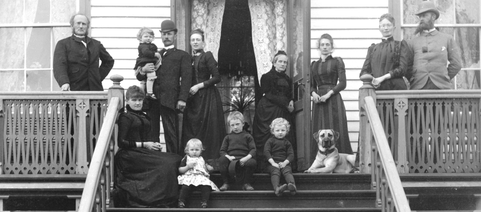 SLIDER_ Gimle familien Arenfeldt_ca 1898