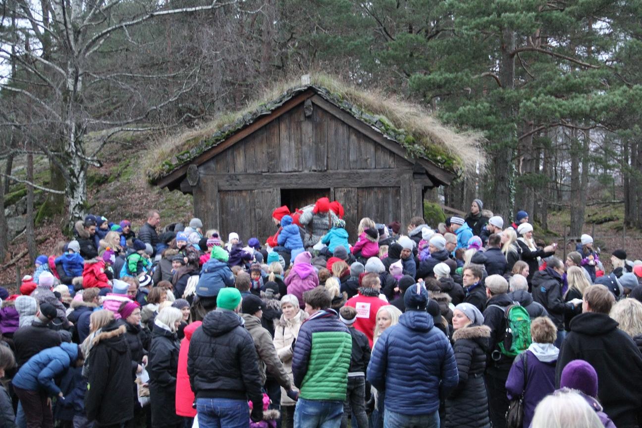 Førjulshygge2014, 15, nissebesøk
