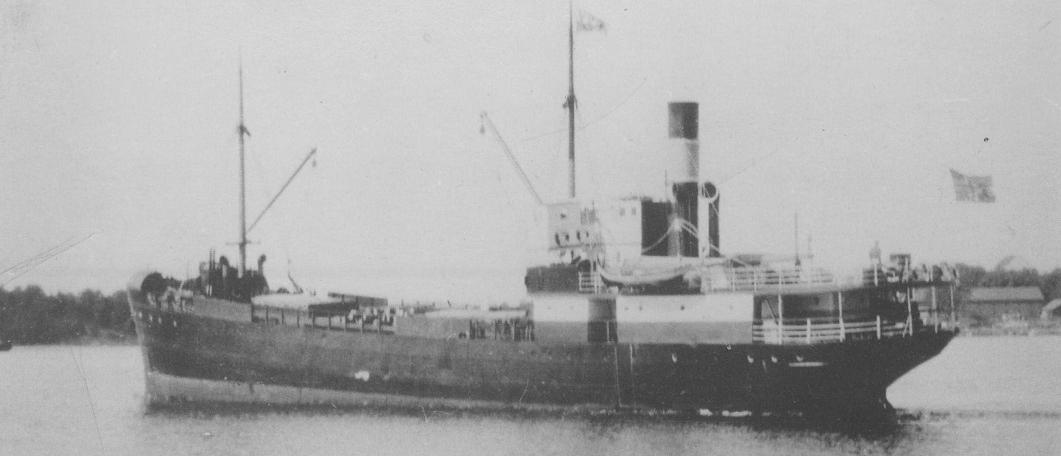 Bilde til 7. juni 1940 – D/S Hestmanden forlater et okkupert Norge
