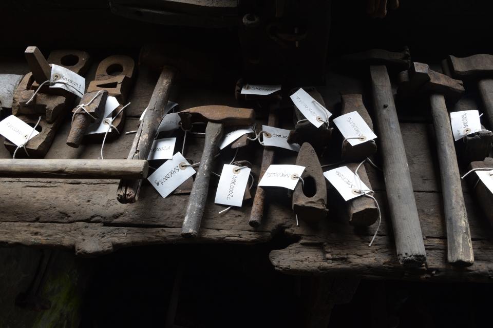 Registrering av Spilling rivefabrikk. Foto Magnhild Aasen