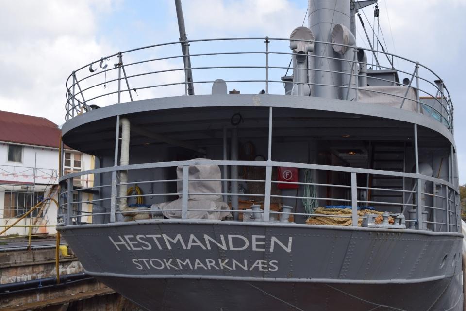 D/S Hestmanden september 2016. Foto Inger Marie Pedersen
