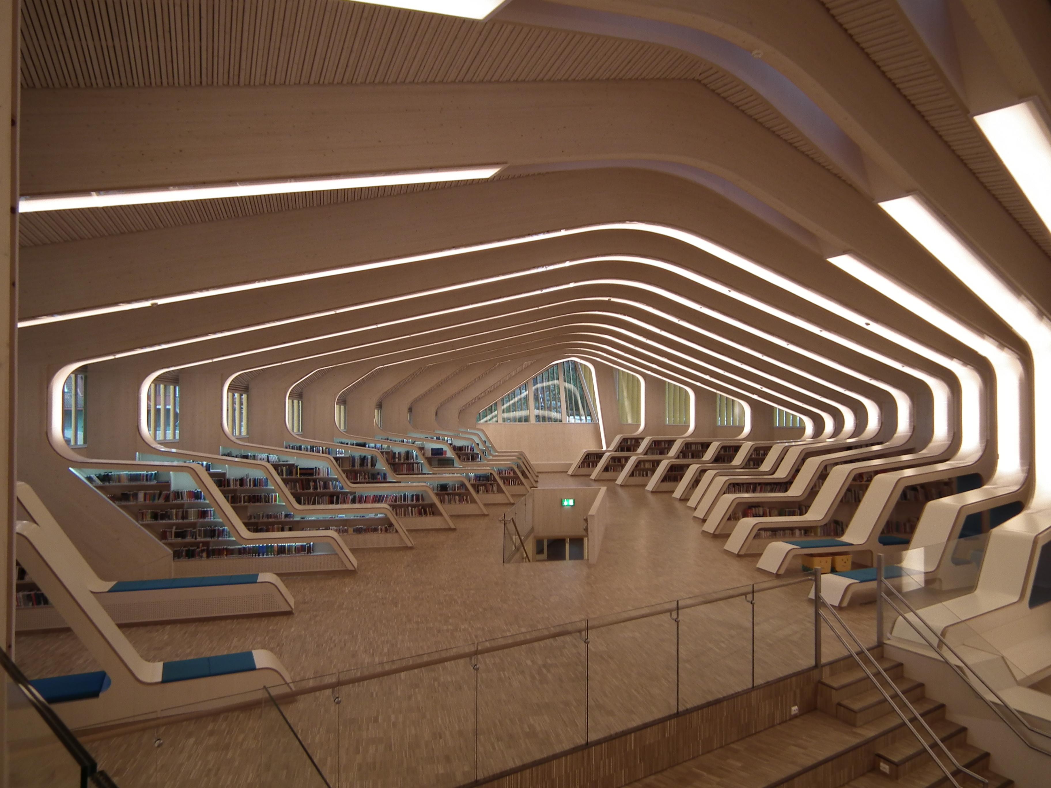 Vennesla bibliotek, bokavdelingen