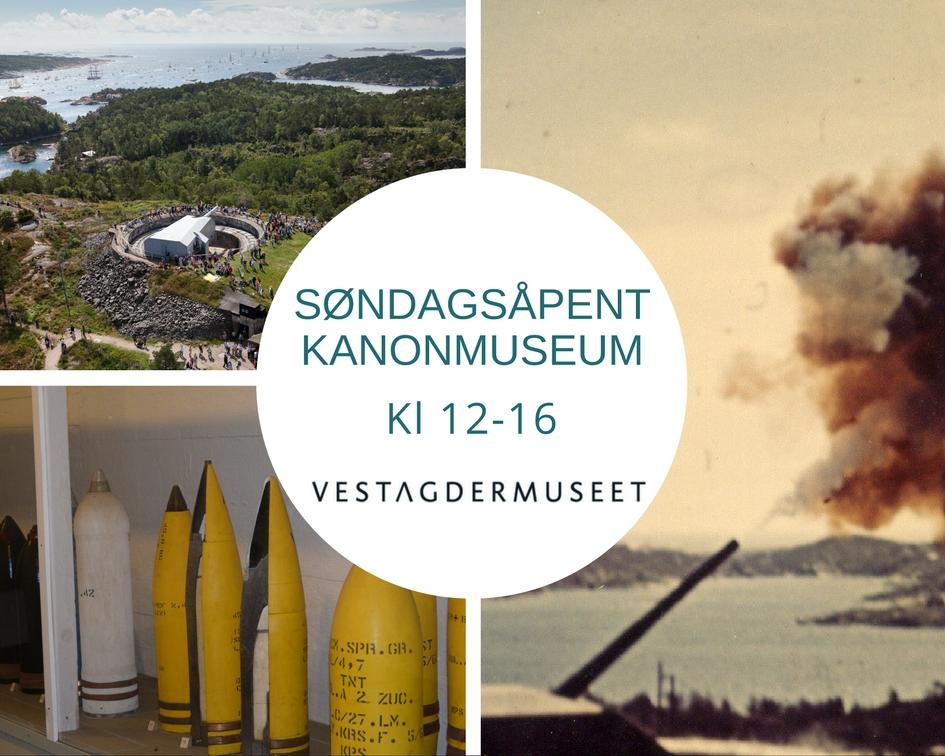 Søndagsåpent kanonmuseum
