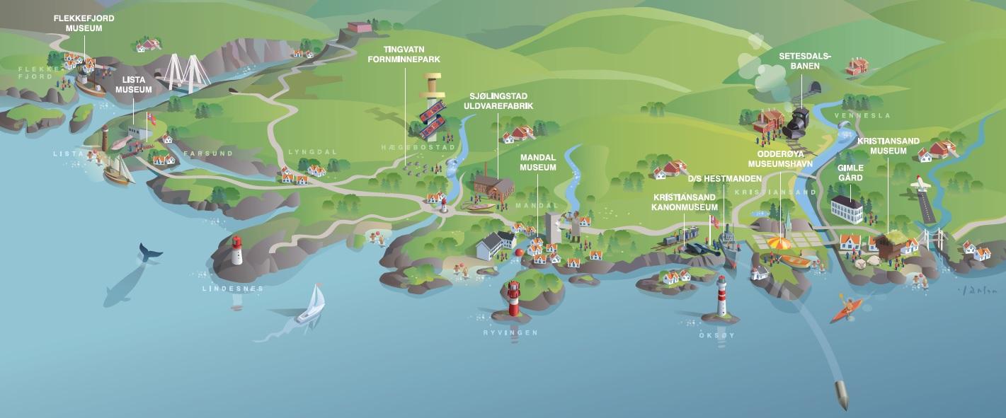 setesdalsbanen kart Vest Agder museet   Vi forteller din historie setesdalsbanen kart