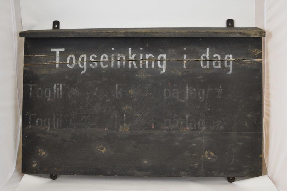 Vest-Agder-museet - Setesdalsbanens samling nå på DigitaltMuseum