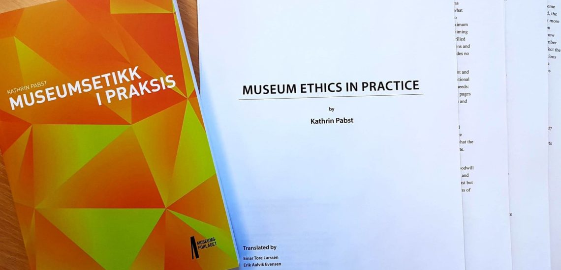 Bilde til English Translation available: Museum Ethics in Practice