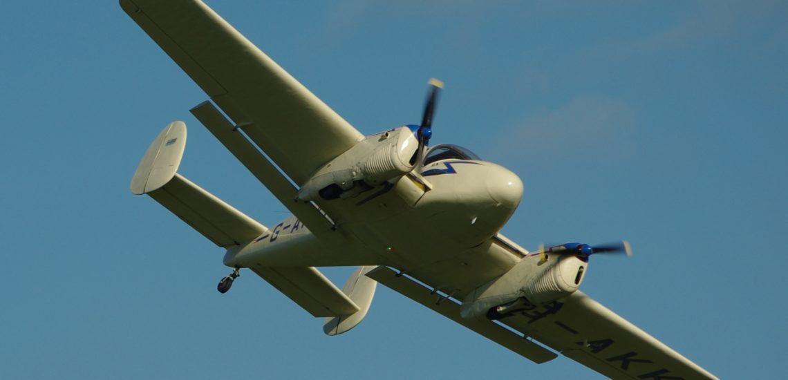 Bilde til Miles Gemini – sørlandsk flyhistorie