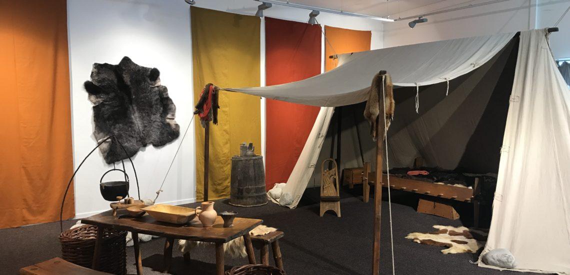 Bilde til Vikingteltet – Ny utstilling på Nordberg fort