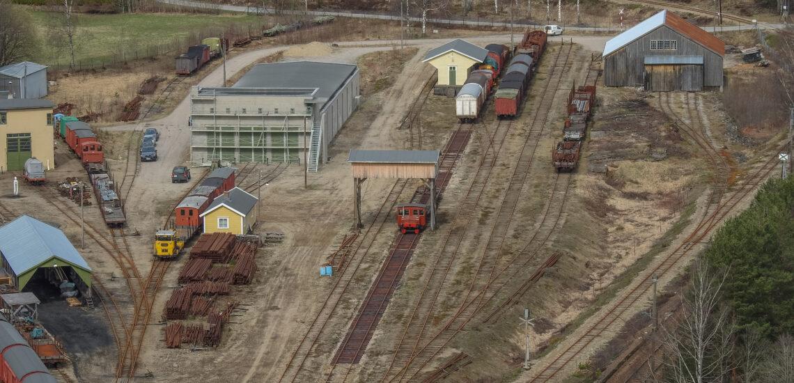 Bilde til Omlastingstomta på Setesdalsbanen