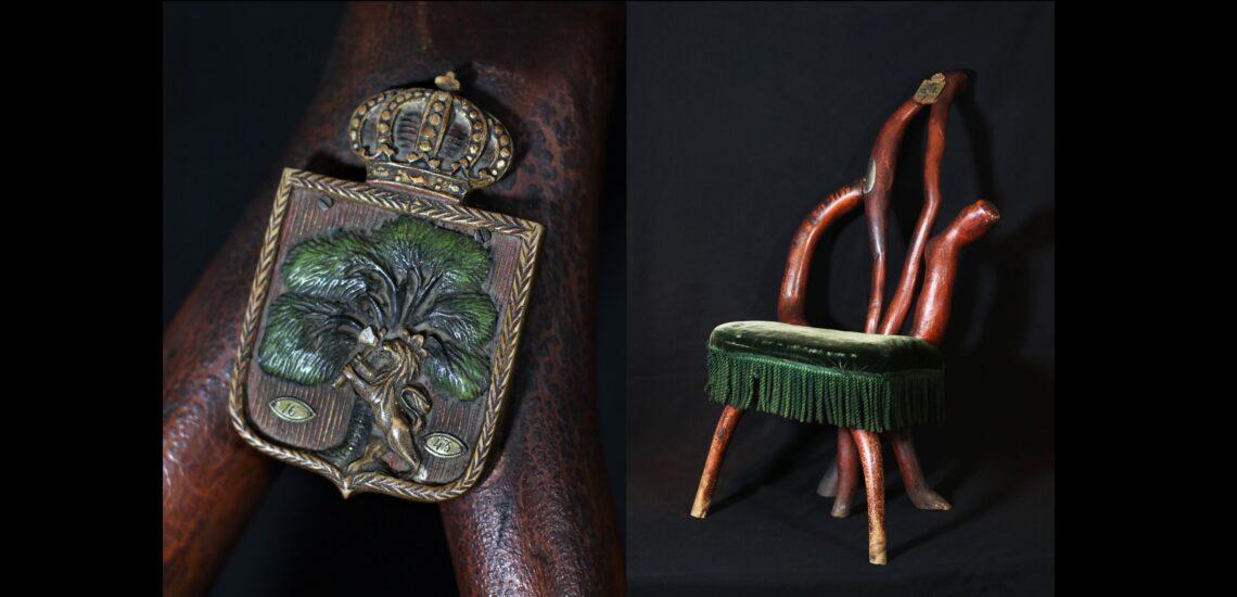 Bilde til Bispestolen, byfurua og byvåpenet