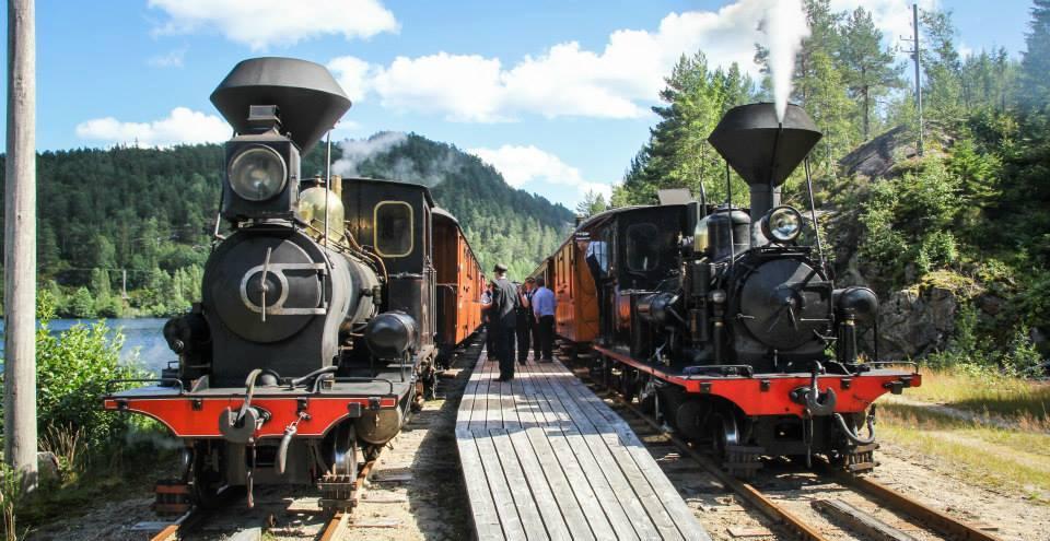 Bilde til Bli med på en tidsreise med Setesdalsbanen