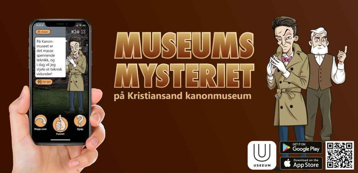 Bilde til Nyhet! Museumsmysteriet på kanonmuseet